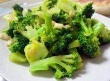 Broccoli saporiti al microonde